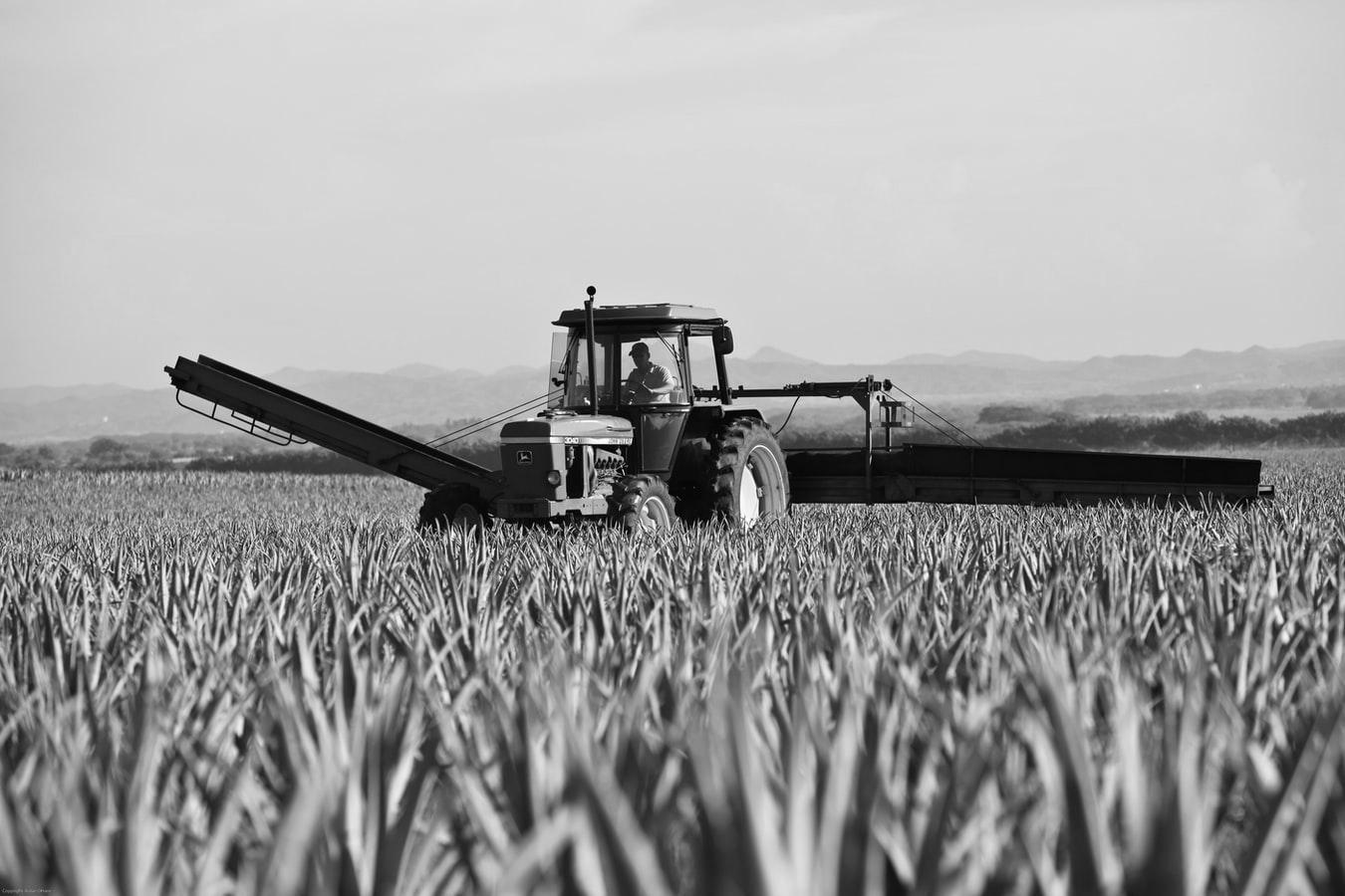 digitalisation de l'agriculture, tracteur