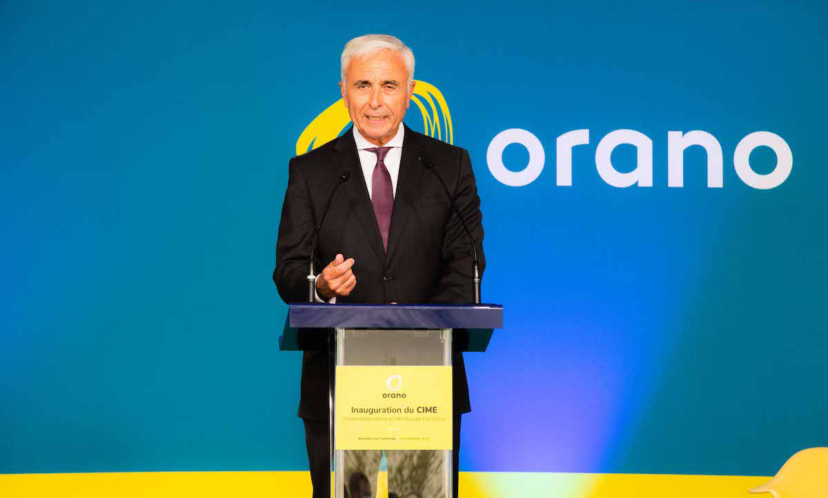 Claude Imauven, Orano Group, au CIME